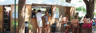 Bar Barena at the Union Lido Holiday Park